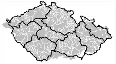 Hydrologická bilance byla modelována pomocí konceptuálního hydrologického modelu Bilan.